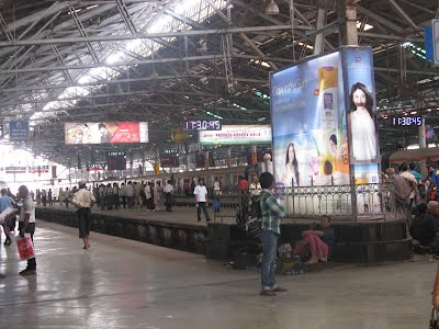 Inside Mumbai VT - Platforms