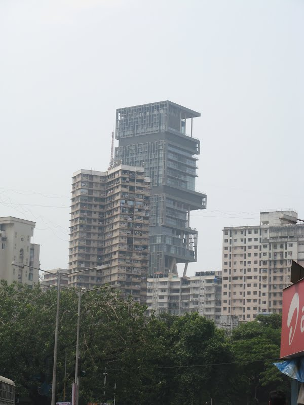 Mukesh Ambani's Antilla - Near Mumbai Central Railway Station