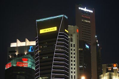 Corporate offices and Financial Services Buildings, Marina Bay Area, Singapore
