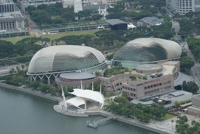 View from Marina Bay Sandpark- Esplanade