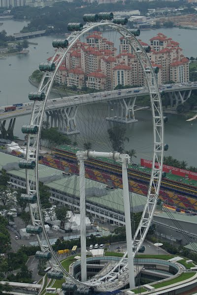 Singapore Flyer - A Truly Giant Ferris Wheel