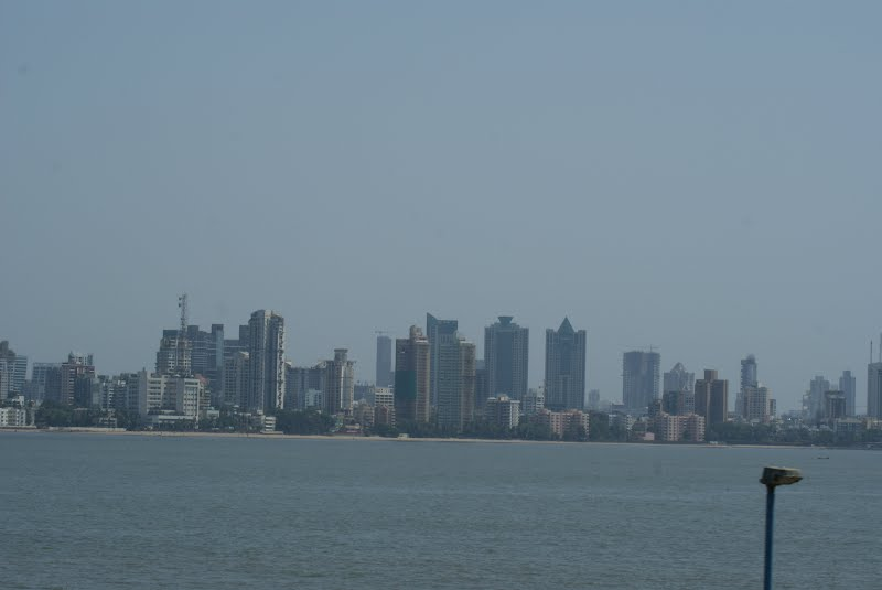 Clicked from the Bandra - Worli Sea Link
