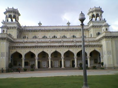 Outside the Chowmahalla Palace, Hyderabad