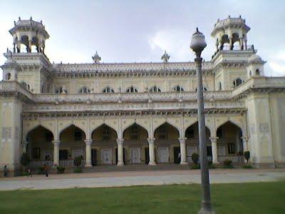 Outside the Chowmahalla Palace, Hyderabad