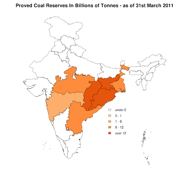 Proved Coal Reserves - 31st March 2011