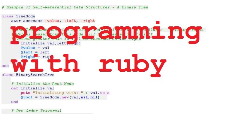 Introduction To Ruby And Some Playing Around With The