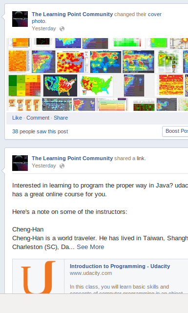 The Learning Point on Facebook