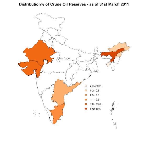 Crude Oil - India