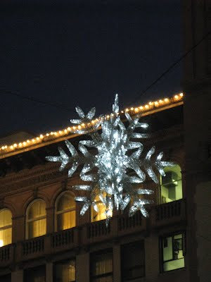 Christmas Decorations - a snowflake