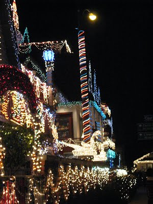 Venice Canals in Los Angeles, Christmas 2007
