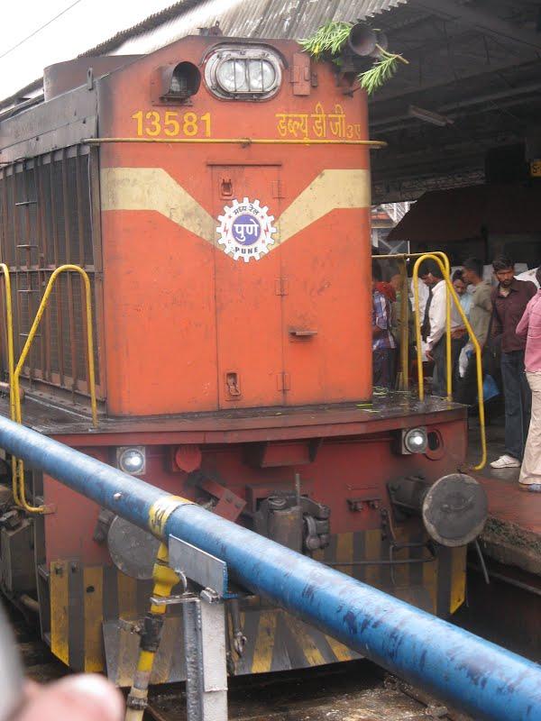WDG 3A Diesel Loco of Jhelum Express ( Jammu Bound )