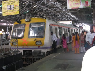 Inside Mumbai VT - Commuter Trains