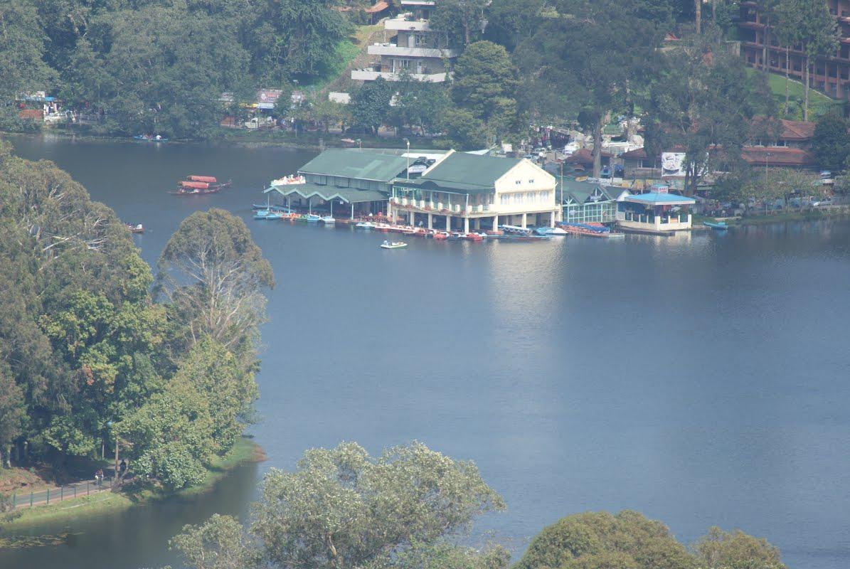 Kodaikanal- Upper Lake View