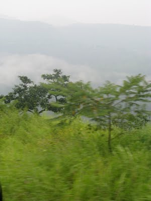 Clouds and the Ghat - Valley