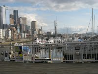 Seattle, near the water front