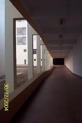 Corridors of Vikramshila Complex
