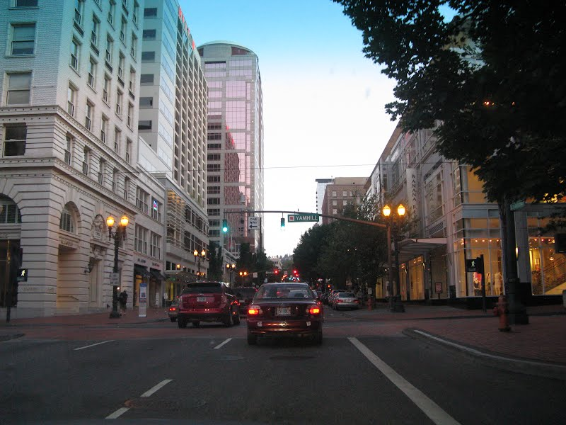 Clicks of Portland - from the car window
