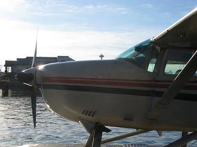 Seaplane in Seattle