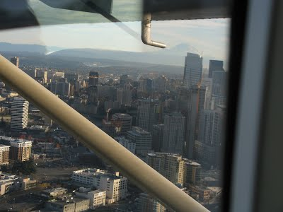 Downtown Seattle - From the seaplane