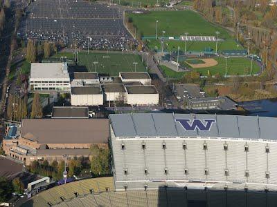 Sports stadium - University of Washington campus