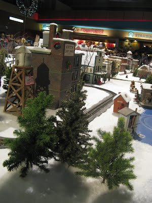 Seattle City Center - New Year 2010 - Toy Trains