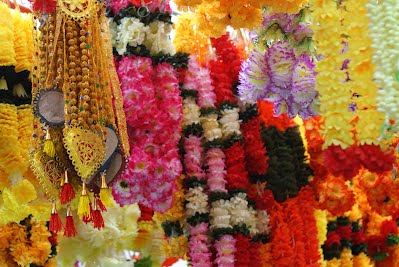 Flowers and Garlands, Little India, Singapore