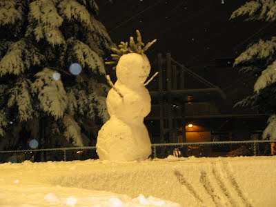 Snowman In Redmond
