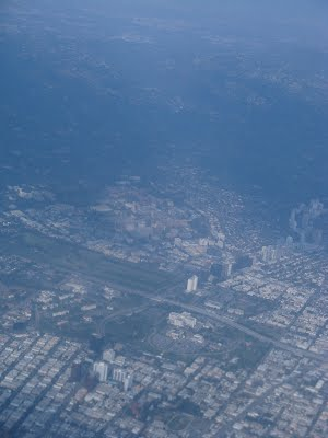 Los Angeles - View during landing