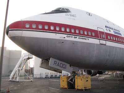 The first flight ready Boeing 747
