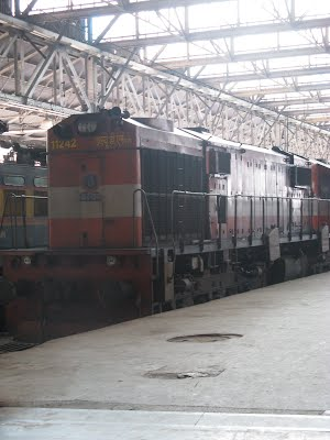 A WDM Diesel Locomotive