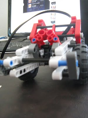 Creations using my Lego Technic Set with Motors from the Mindstorm kit