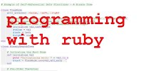 Programming With Ruby